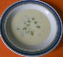 Jemná chřestová polévka